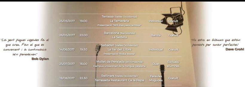 """Web del cantautor """"Un tal Pere"""" 1"""