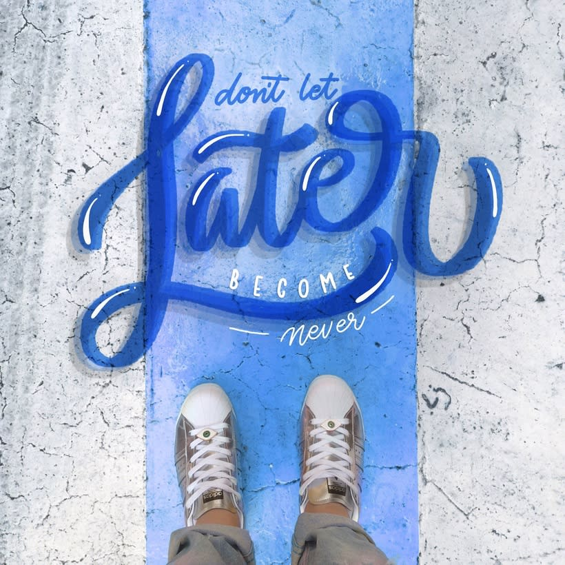 Floor Letters - Serie 3