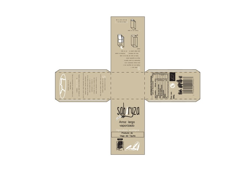 SABORYZA - Arroz largo parbolizado 0
