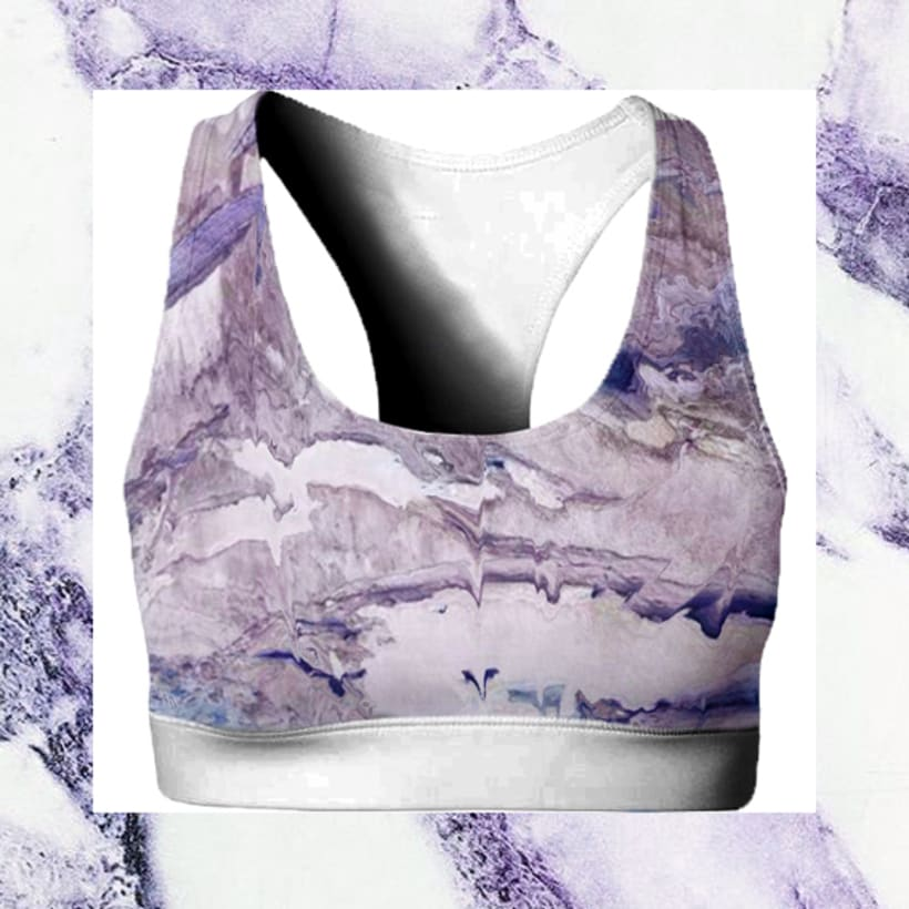 Sportwear marmol print -1