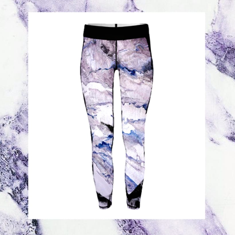 Sportwear marmol print 0