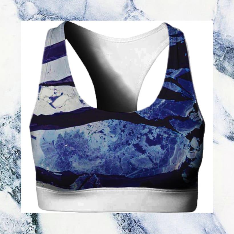 Sportwear marmol print 1