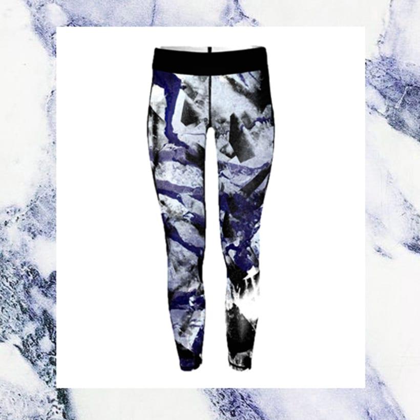 Sportwear marmol print 2