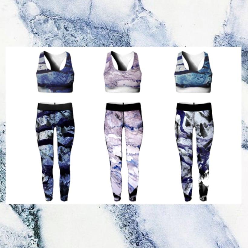 Sportwear marmol print 3