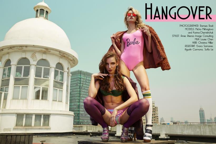 Hangover for TOKSICK Magazine 0