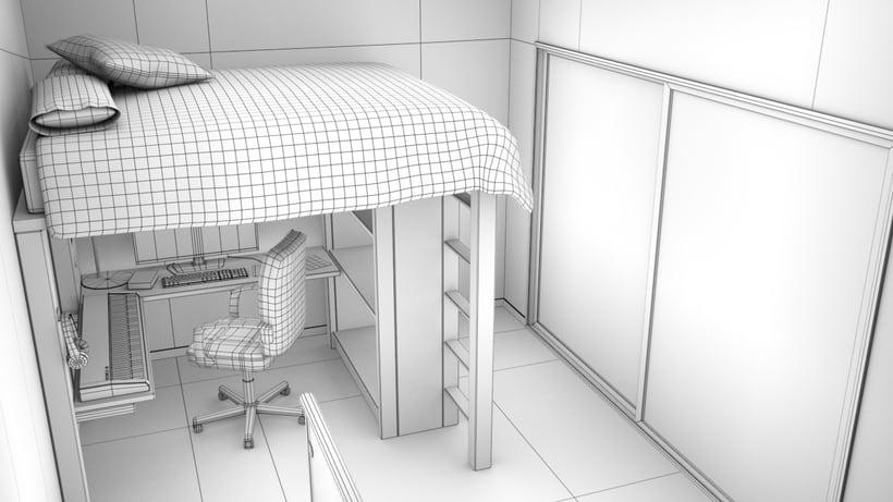 Modeling a room (work in progress) -1