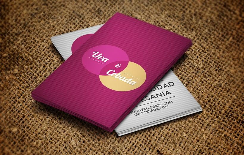 Diseño web y gráfico: Uva y Cebada 0