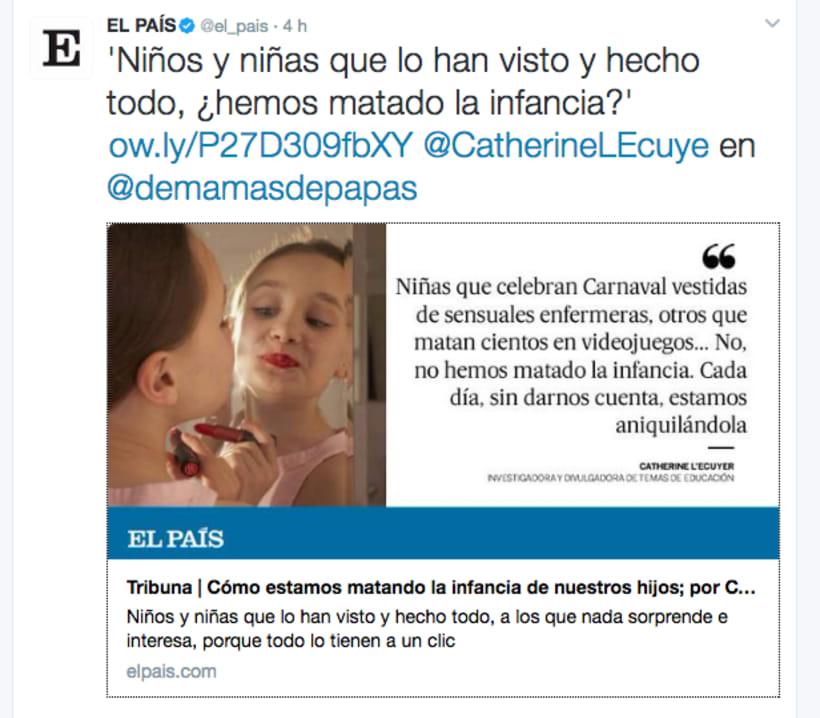 RETO: 5 Días Ilustrando Tweets de Prensa de 'EL PAÍS' 9