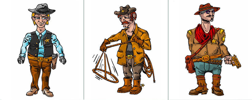 Sheriff Gang Concept Art 0