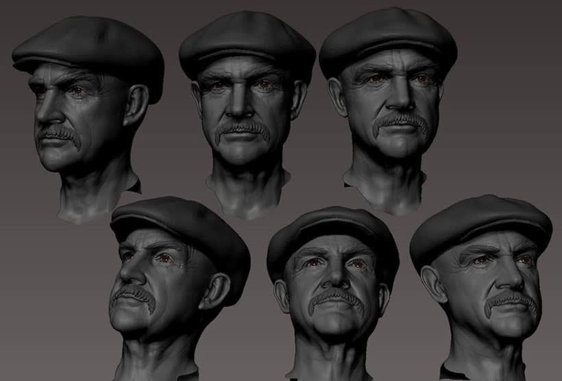 Sean Connery work in progress 0