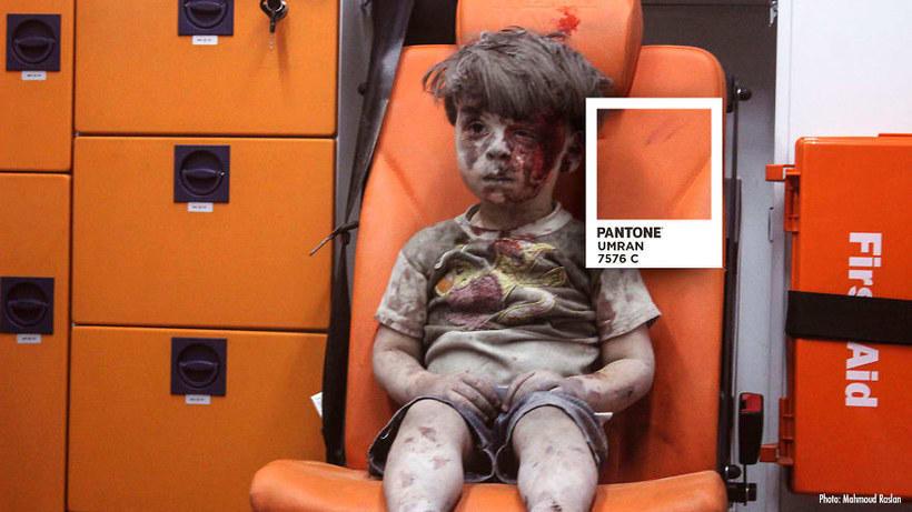 Pantones para no olvidar la realidad siria 1