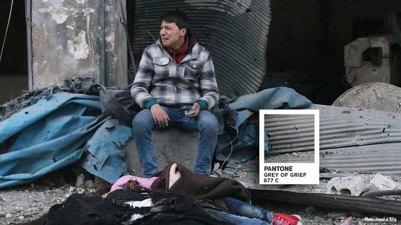 Pantones para no olvidar la realidad siria 3