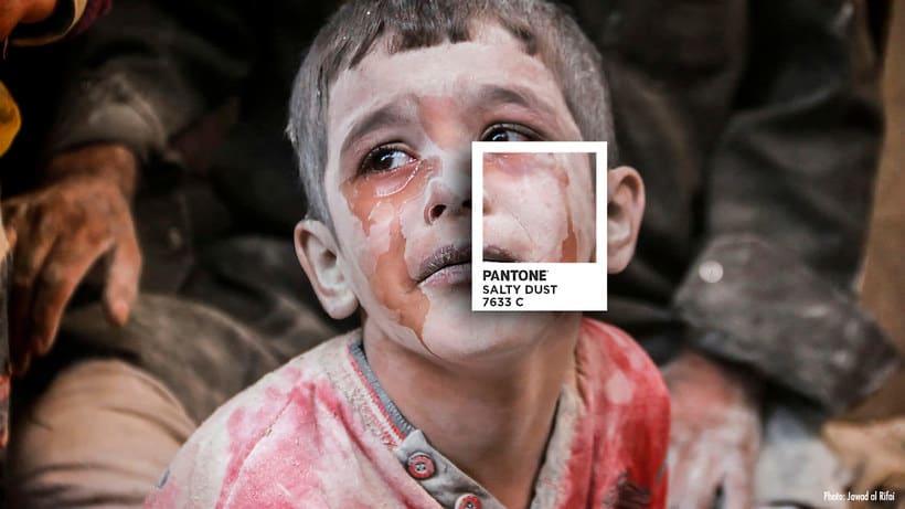 Pantones para no olvidar la realidad siria 5