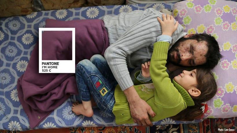 Pantones para no olvidar la realidad siria 7