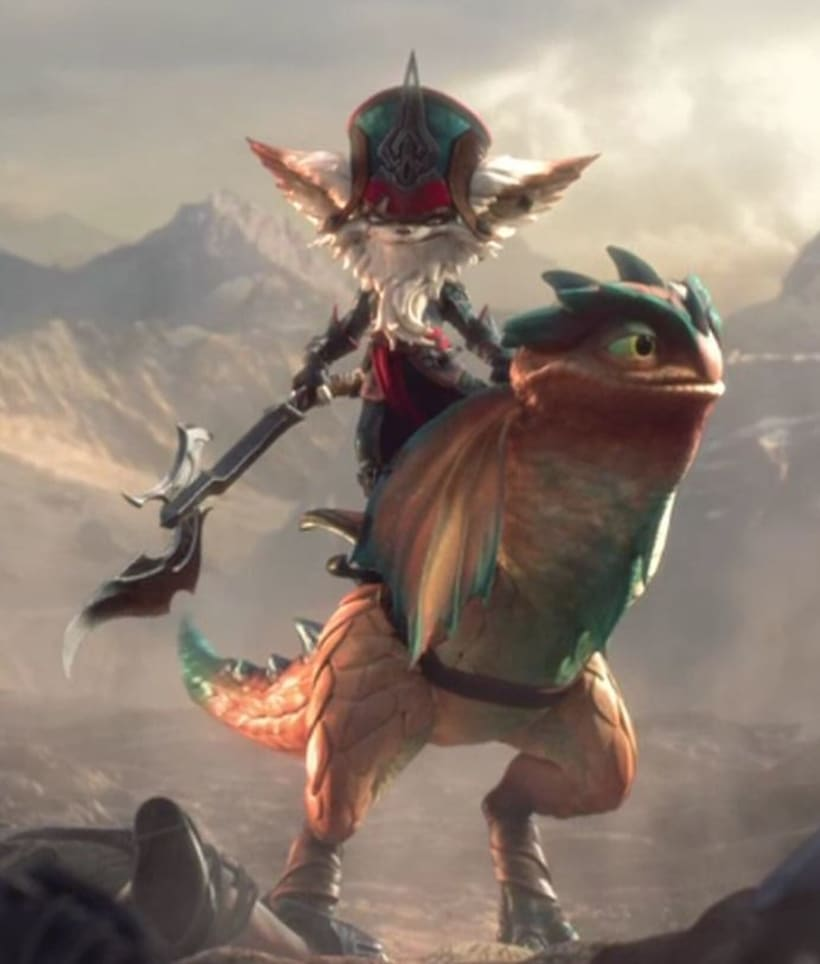Videojuego League of legend, Kled 5