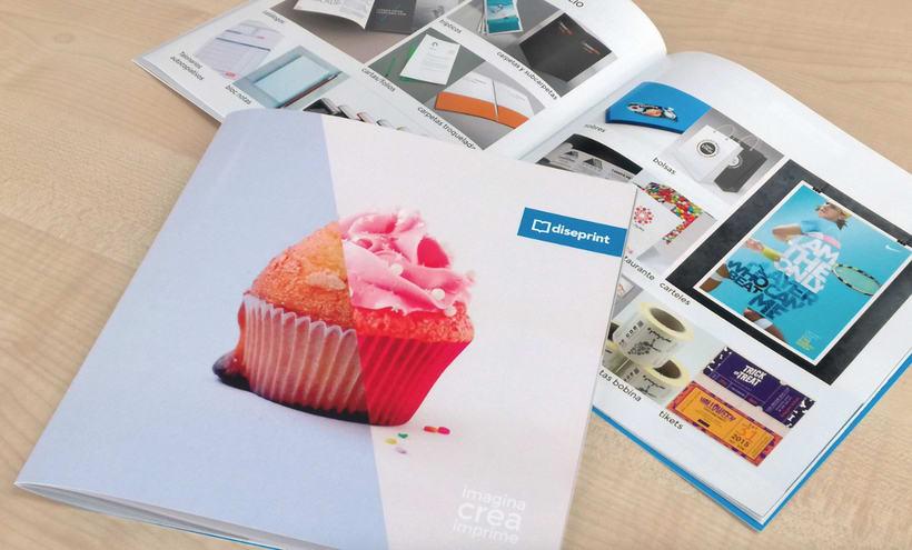 Diseño y maquetación de Catálogo Diseprint 0