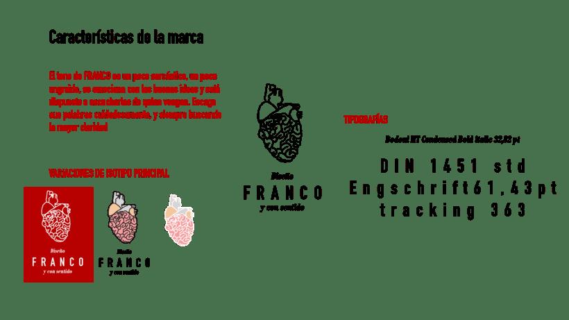 Hoja de vida e identidad corporativa FRANCO 2