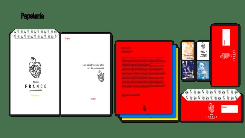 Hoja de vida e identidad corporativa FRANCO 4