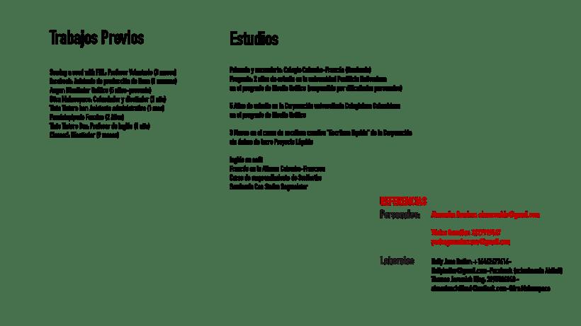 Hoja de vida e identidad corporativa FRANCO 7