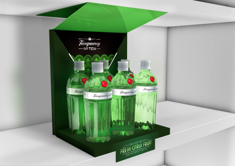 Tanqueray Expositor Lineal -1