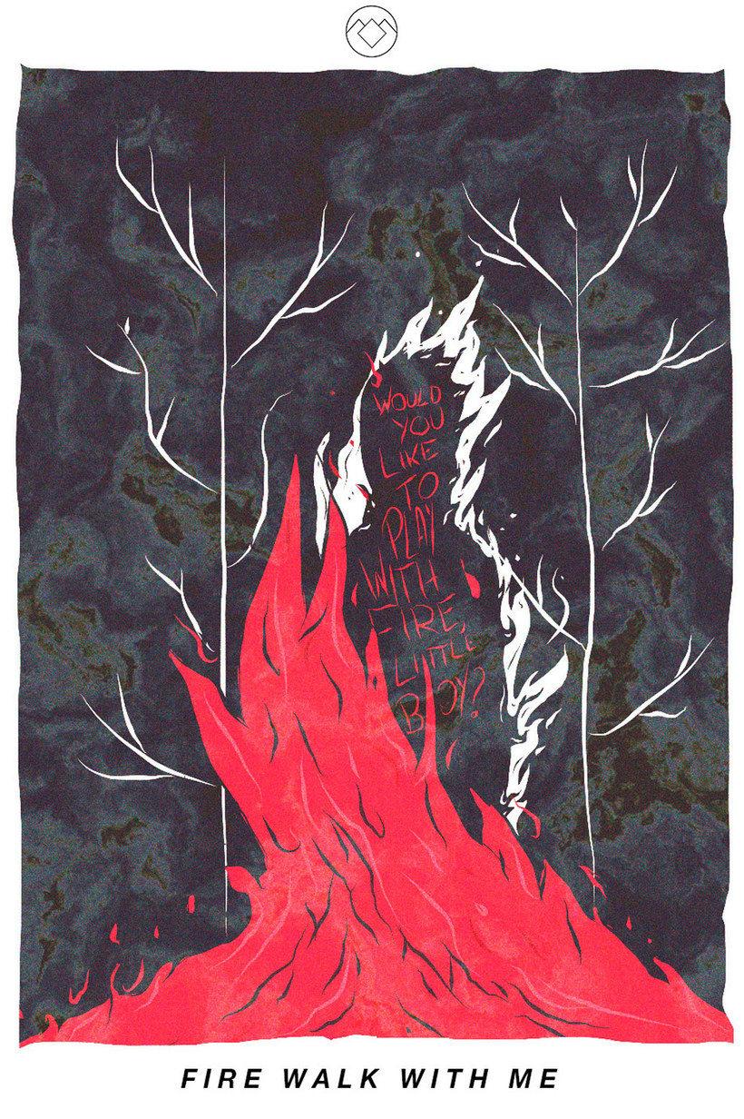 12 ilustradores y diseñadores revisitan Twin Peaks 12