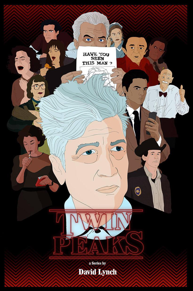 12 ilustradores y diseñadores revisitan Twin Peaks 16