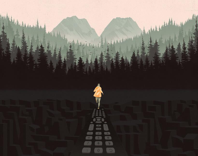 12 ilustradores y diseñadores revisitan Twin Peaks 20