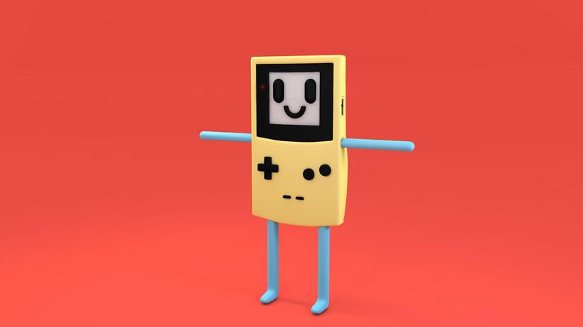 Mi Proyecto del curso: Diseño de personajes y Animación 3D 8