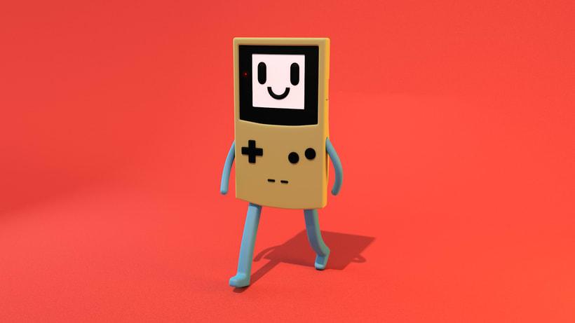 Mi Proyecto del curso: Diseño de personajes y Animación 3D 9