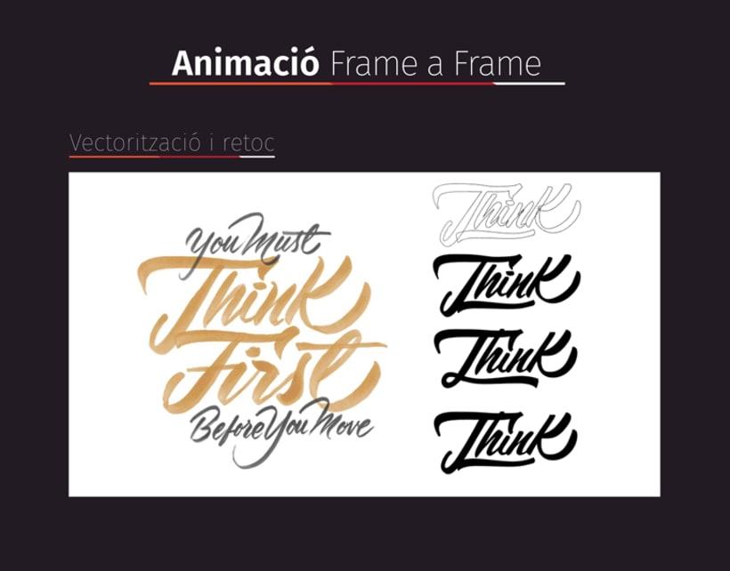 Lettering Animado 1ª Parte: Frame a Frame! 0