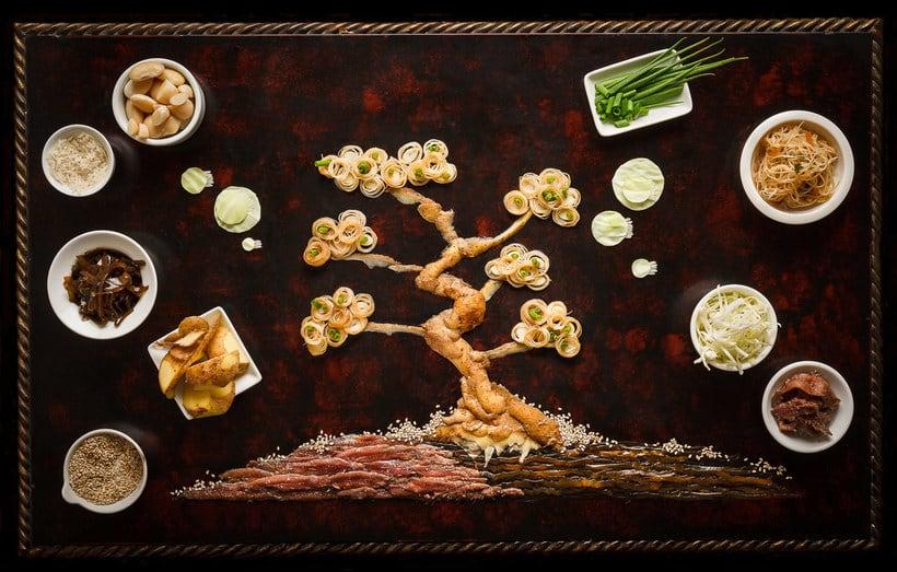 Anna Keville Joyce y el arte de ilustrar con comida 8