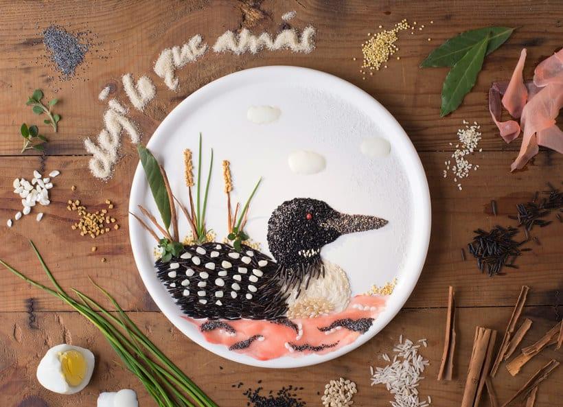 Anna Keville Joyce y el arte de ilustrar con comida 9