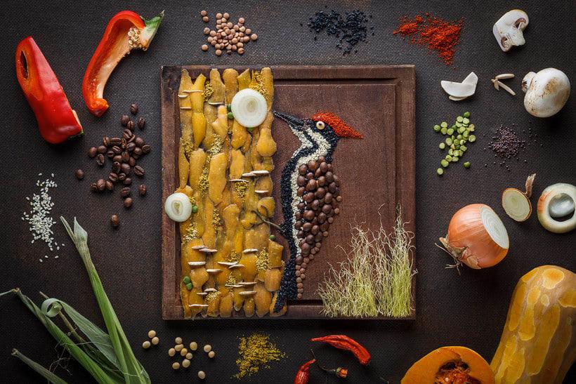Anna Keville Joyce y el arte de ilustrar con comida 22