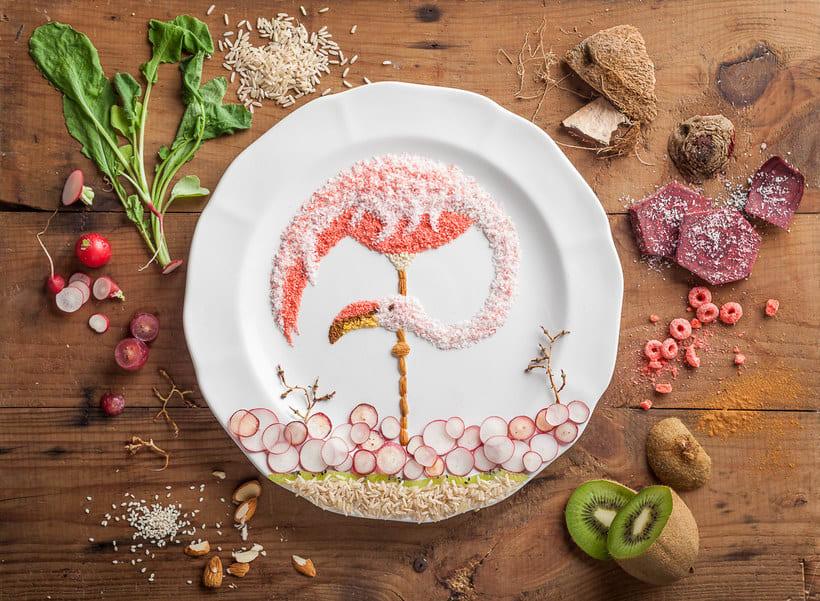 Anna Keville Joyce y el arte de ilustrar con comida 28
