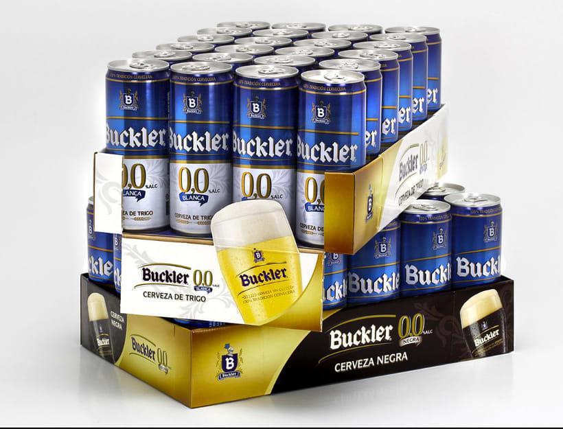 Buckler Cerveza de Trigo y Cerveza Negra  0