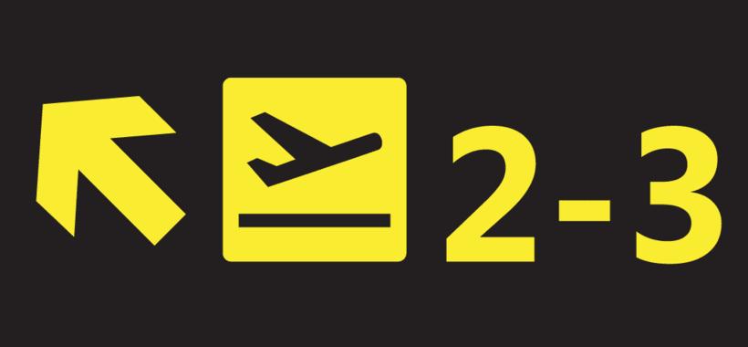 Dibujo Vectorial - Illustrator - Airport Sings  1