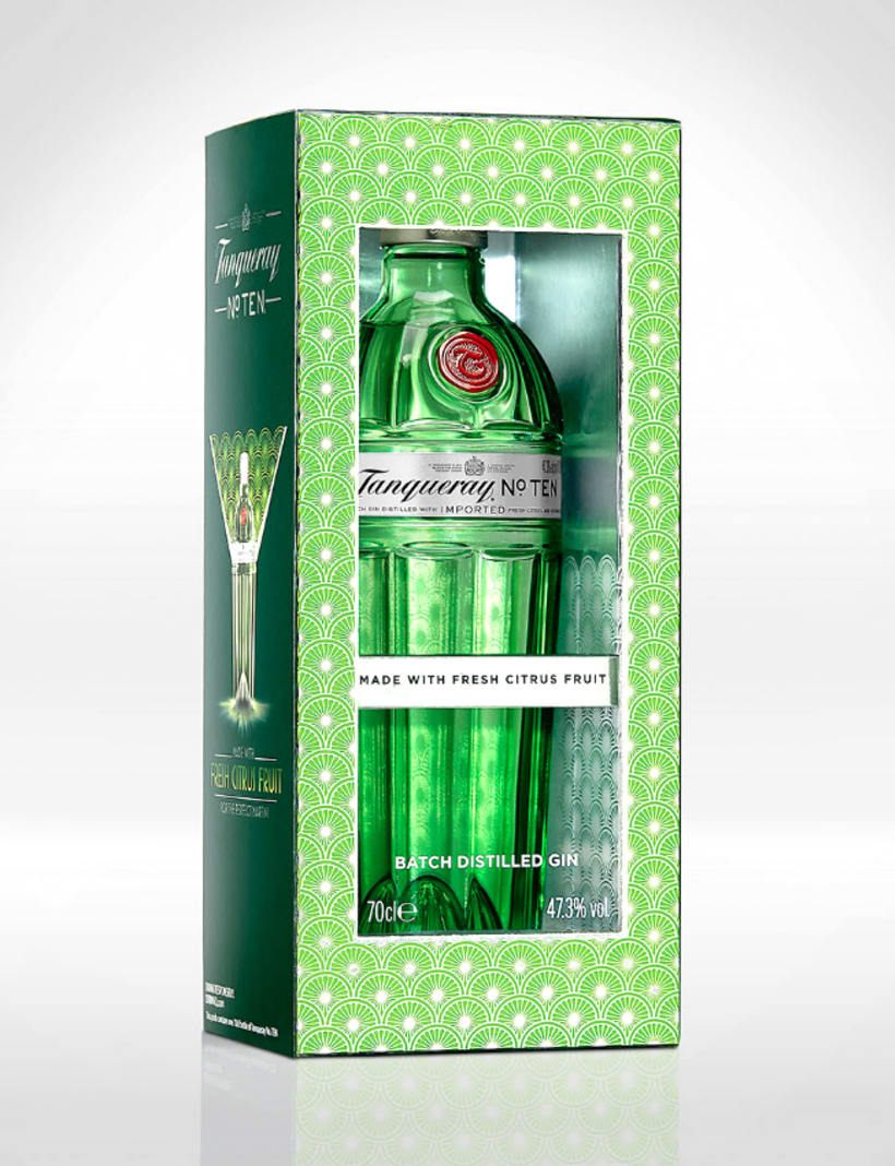 Tanqueray NºTen Packaging -1