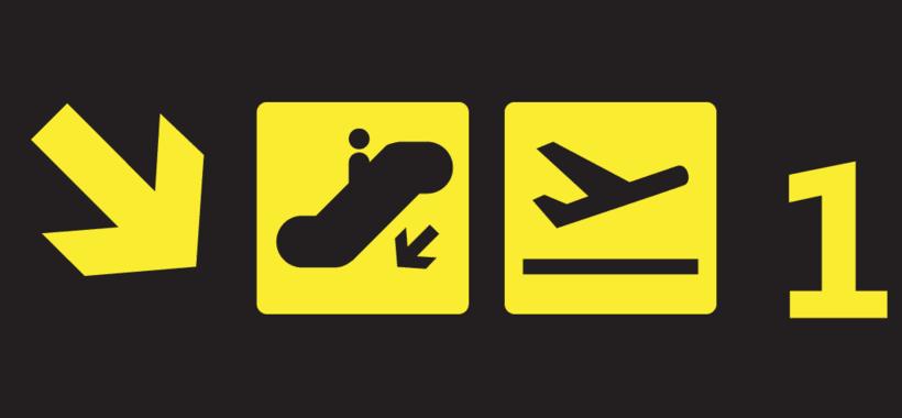 Dibujo Vectorial - Illustrator - Airport Sings  2
