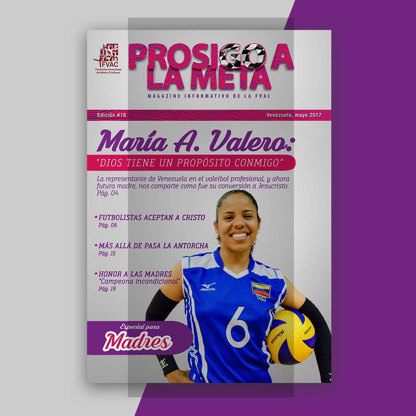 Diseño Editorial - Revista Prosigo a la Meta -1