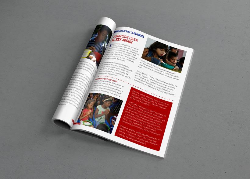 Diseño Editorial - Revista Prosigo a la Meta 1