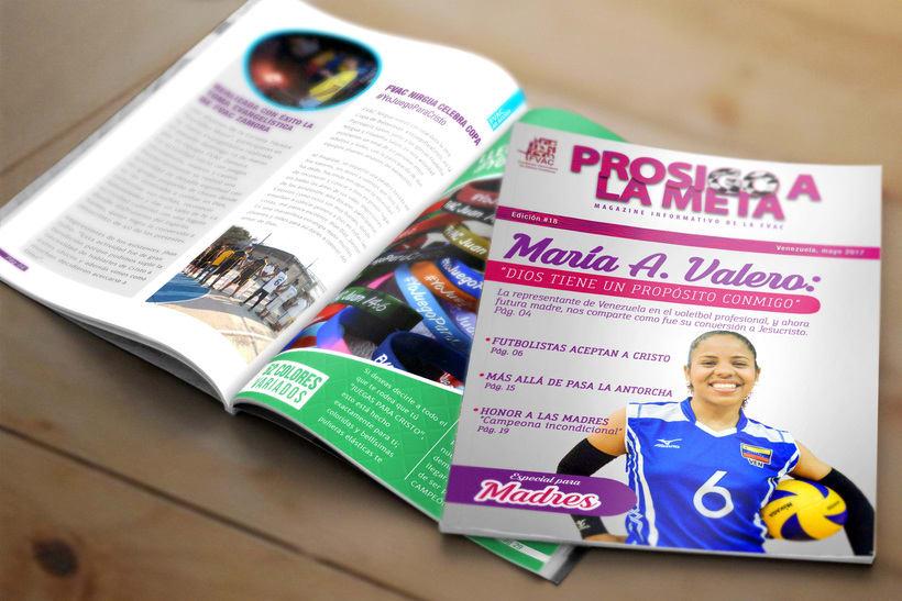 Diseño Editorial - Revista Prosigo a la Meta 2