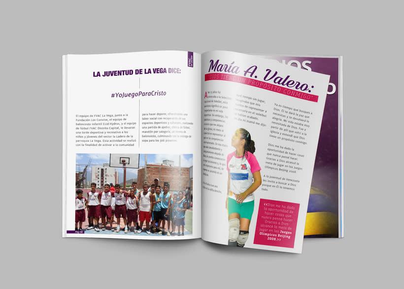 Diseño Editorial - Revista Prosigo a la Meta 3
