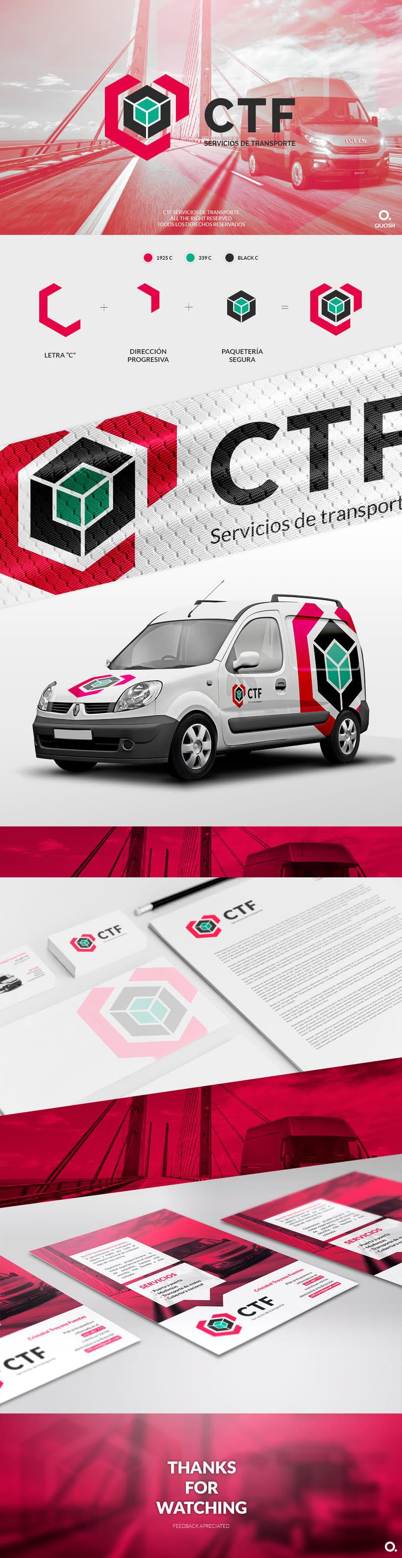 CTF Servicios de transporte | Branding project 1