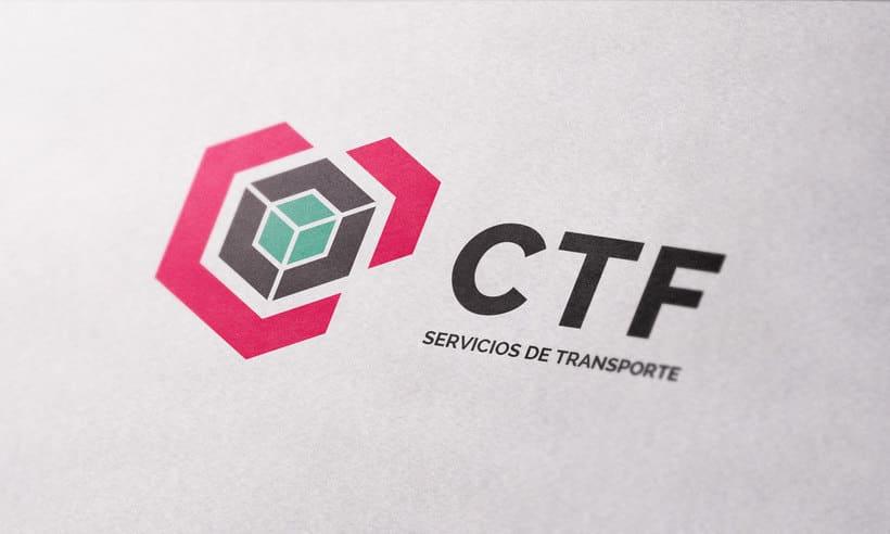 CTF Servicios de transporte | Branding project 0