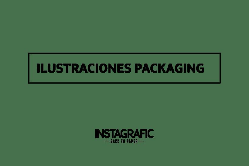Ilustraciones de  Packaging para Instagrafic -1
