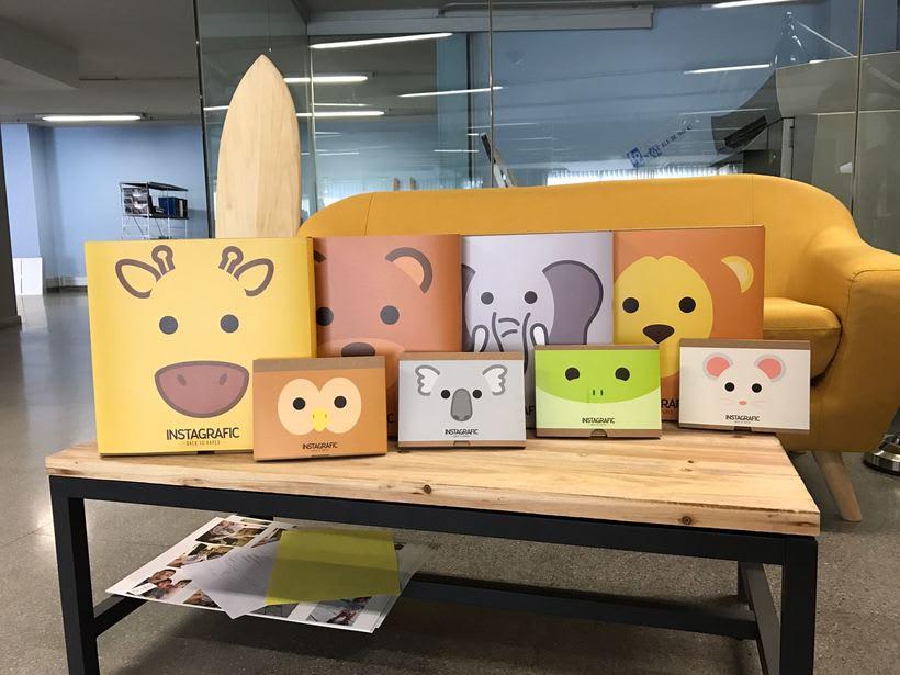Ilustraciones de  Packaging para Instagrafic 4
