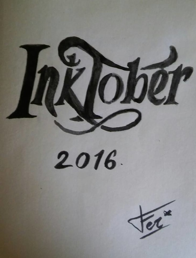 Inktober 2016 1