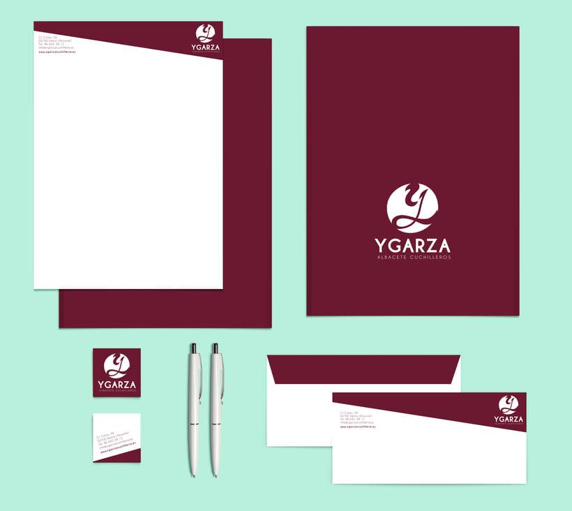 Ygarza - Albacete Cuchilleros Branding 1