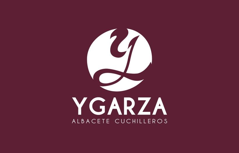 Ygarza - Albacete Cuchilleros Branding 0