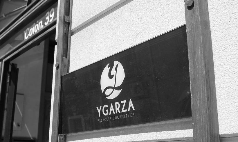Ygarza - Albacete Cuchilleros Branding 2